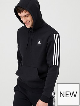 adidas-3-stripe-overhead-hoodie-blacknbspnbsp