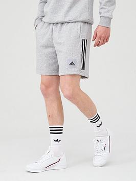 adidas-3-stripe-shorts-medium-grey-heathernbsp