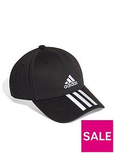adidas-3-stripe-baseball-cap-blacknbsp