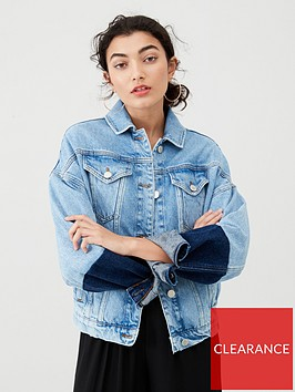 v-by-very-contrast-sleeve-denim-jacket-mid-wash
