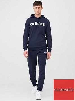 adidas-linear-logo-ovehead-hooded-tracksuit-inknbsp