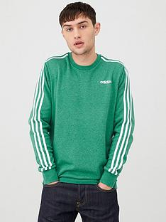 adidas-3-stripe-linear-crew-neck-sweatshirt-greennbsp