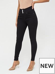 v-by-very-macy-high-waisted-skinny-jean--nbsp-black