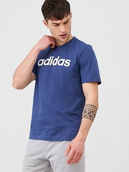 adidas-linear-t-shirt-indigonbsp