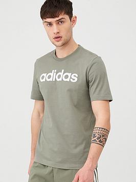 adidas-linear-t-shirt-greennbsp
