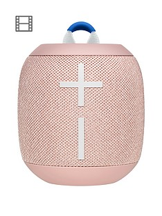 ultimate-ears-wonderboom-2-bluetooth-speaker-big-bass-360-sound-waterproof-dustproof-ip67-floatable-100-ft-range-pink