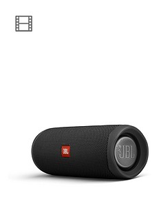 JBL Flip 5 Bluetooth Wireless Speaker - Black