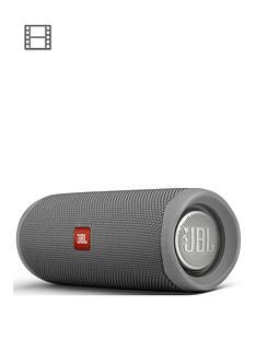 JBL Flip 5 Bluetooth Wireless Speaker - Grey