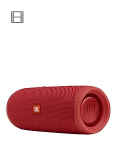 JBL Flip 5 Bluetooth Wireless Speaker - Red