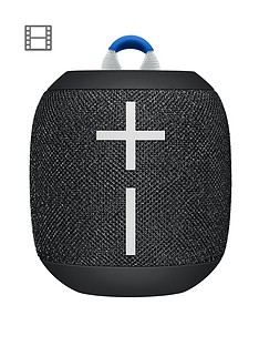 Ultimate Ears Wonderboom 2 Bluetooth Speaker - Big Bass 360 Sound, Waterproof / Dustproof IP67, Floatable, 100 Ft Range, Black
