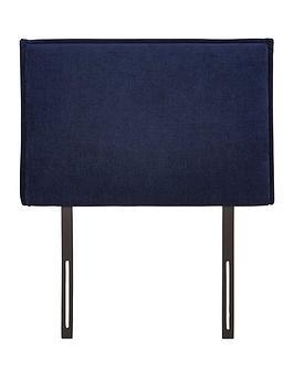 Dillan Plain Edge Single Size Divan Headboard
