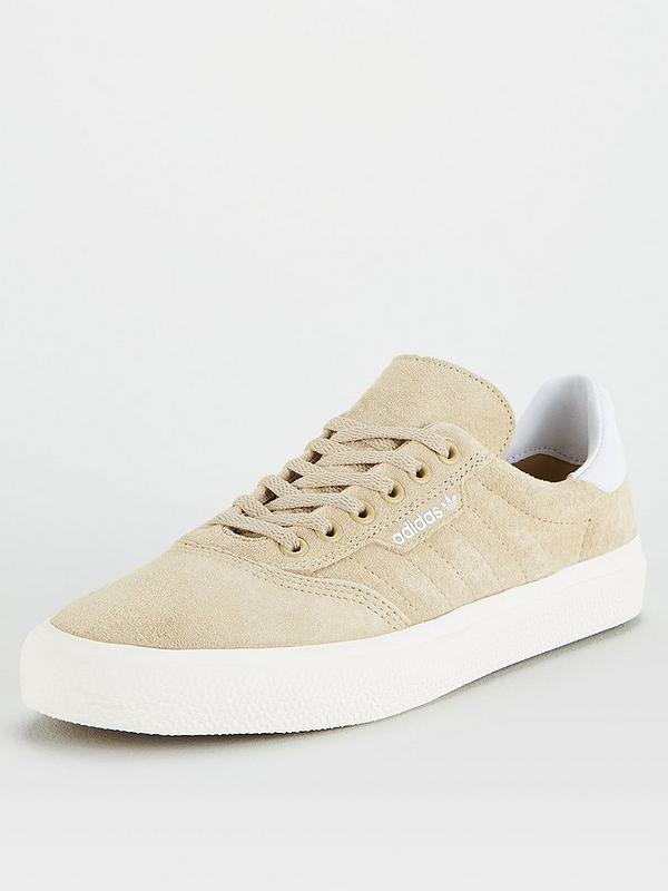Fangoso adolescente bestia  adidas Originals 3MC - Beige/White | very.co.uk