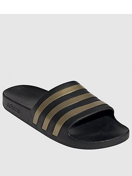 adidas-adilette-aqua-blackgold
