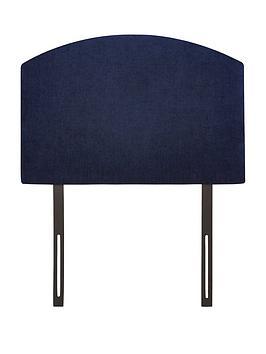 Luna Curved Top Single Size Divan Headboard