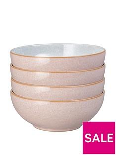 denby-elements-set-of-4-cereal-bowls-ndash-sorbet-pink