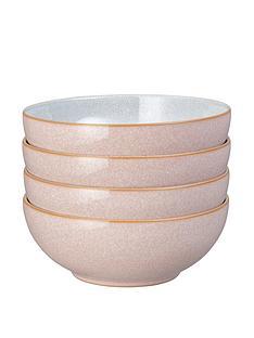 denby-elements-sorbet-pink-4-piece-cereal-bowl-set