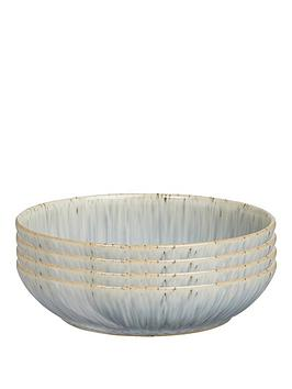 denby-halo-grey-speckle-set-of-4-pasta-bowls