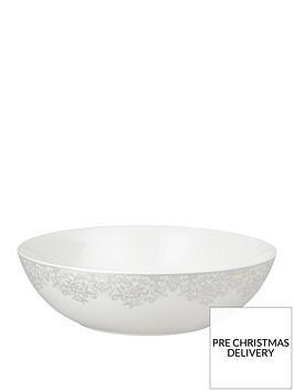 monsoon-denby-filigree-silver-serving-bowl