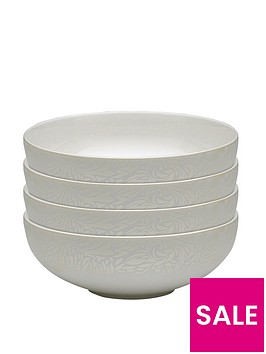 monsoon-denby-lucille-gold-4-piece-cereal-bowl-set