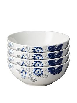 monsoon-denby-fleur-set-of-4-cereal-bowls