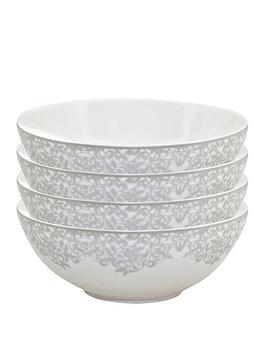 monsoon-denby-filigree-silver-cereal-bowls-ndash-set-of-4
