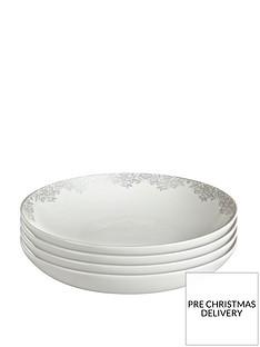 monsoon-denby-filigree-silver-pasta-bowls-ndash-set-of-4