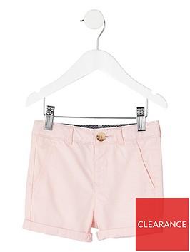 river-island-mini-mini-boys-smart-chino-shirt-pink