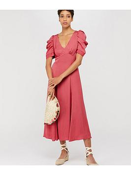 monsoon-amelia-satin-midi-dress