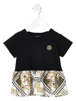river-island-mini-mini-girls-peplum-baroque-t-shirt-black