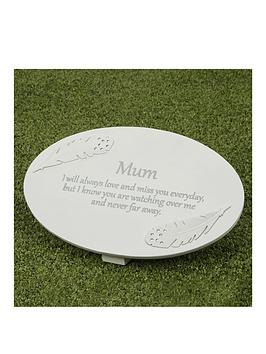 thoughts-of-you-resin-memorial-plaque-mum