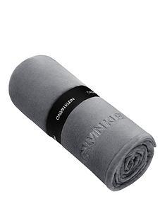 calvin-klein-michael-fleece-throw-charcoal