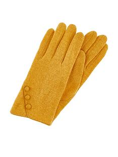 accessorize-wool-glove-with-buttons-ochre