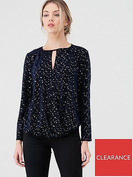 wallis-stardust-wrap-top-blue