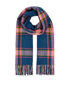 accessorize-devonshire-check-blanket-scarf-brights-multi
