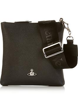 vivienne-westwood-mens-leather-cross-body-bag-black