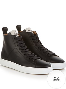 vivienne-westwood-mens-leather-hi-top-trainers-black