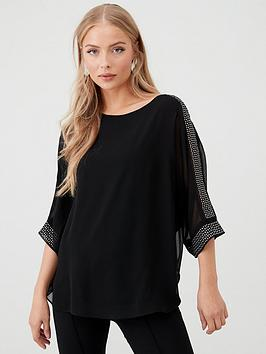 wallis-hotfix-slash-neck-overlayer-top-black