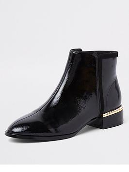 river-island-river-island-pearl-embellished-ankle-boot-black