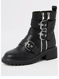 river-island-buckle-biker-boot-black