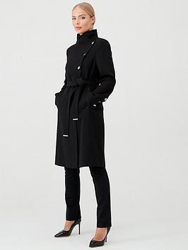 wallis-double-crepe-asymmetrical-belted-wrap-coat-black