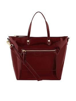 accessorize-mini-yolanda-patent-tote-bag-burgundy