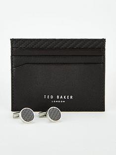 ted-baker-cufflink-and-cardholder-set-black