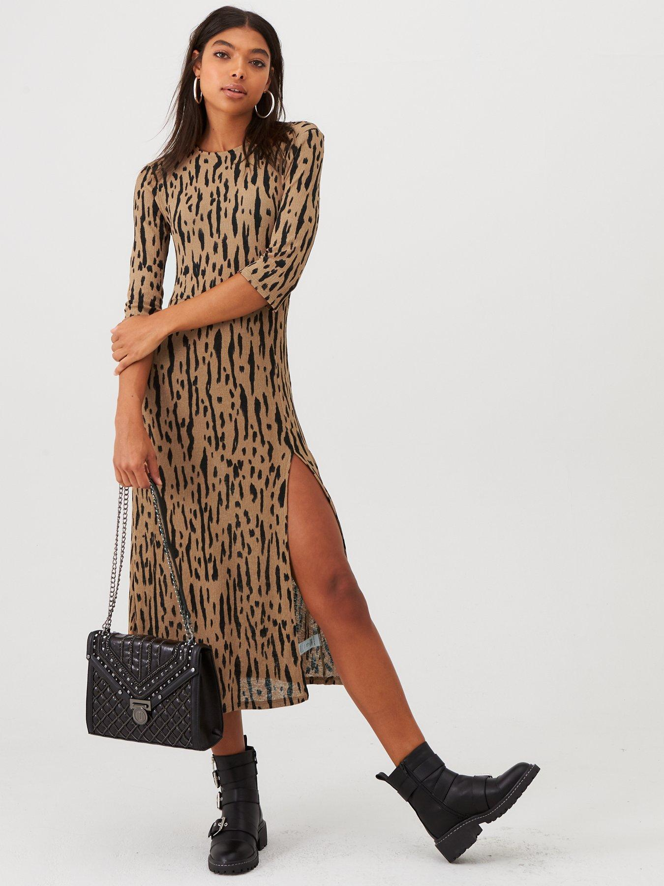 UK Women Oversize Swing Long Shirt Dress V-neck Long Sleeve Linen Holiday Kaftan