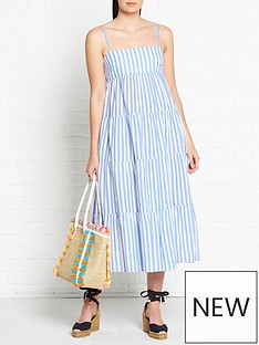 seafolly-stripe-tiered-dress-bluewhite