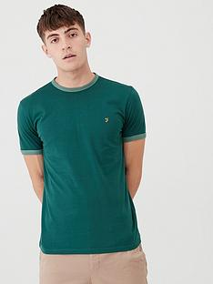 farah-soft-ringer-t-shirt-emerald