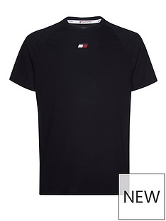 tommy-hilfiger-sport-chest-logo-t-shirt-navy