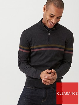 ted-baker-allova-striped-funnel-neck-jumper-charcoal