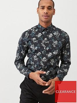 ted-baker-revoir-long-sleeved-floral-print-shirt-navy