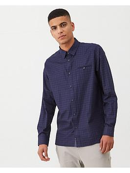 ted-baker-long-sleeve-checked-shirt-indigo