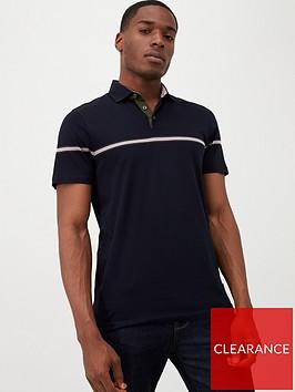 ted-baker-short-sleeved-stripe-polo-shirt-navy